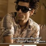 Sascha Maske steht auf Dolce & Gabbana