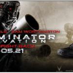 John Conner aus Terminator Salvation im Oakley Dress