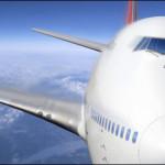 Entspannte und angenehme Augen im Ferien-Flugzeug