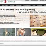 Homepage-Update: Brillenboutique neu gestaltet