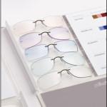 Styling Workshop der Firma Silhouette – Farben und Formen von Brillenfassungen