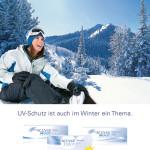 UV-Schutz ist auch im Winter ein Thema