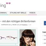 Kuratorium Gutes Sehen startet Brillenstyling Plattform