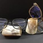 NEU und EXLUSIV  bei OPTIKER SCHÜTZ ! Naturhornbrillen
